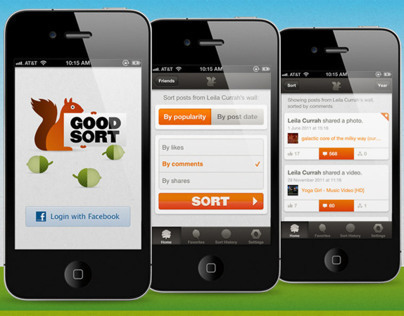 Good Sort for Facebook iOS app