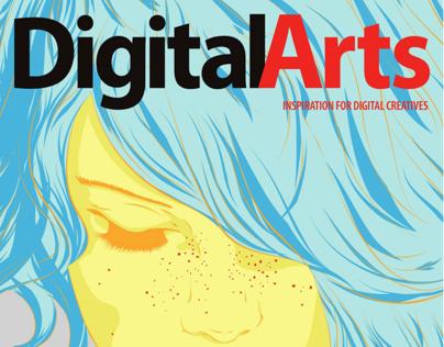 Digital Arts cover artist