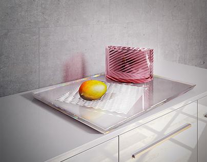 Design vase - 3D visualisation