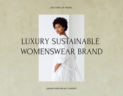 Mother of Pearl | E-commerce redesign