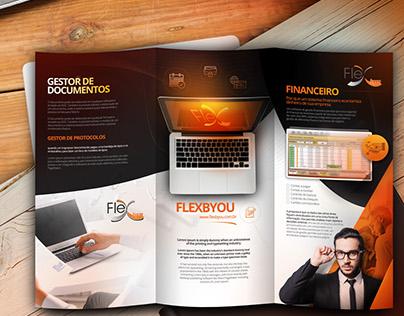 FLEXBYOU - 3fold brochure design