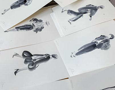 I N K / Figurative Silhouettes
