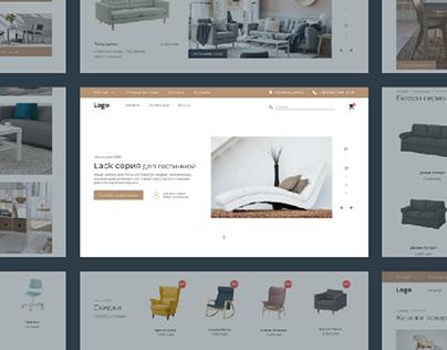 e-Commerse furniture website