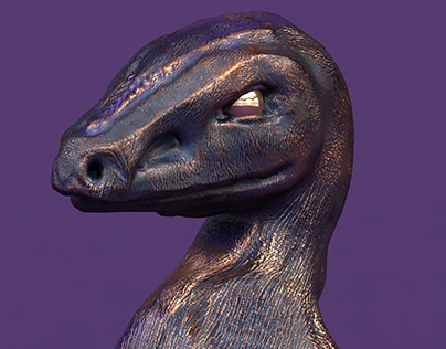 Bronze Raptor