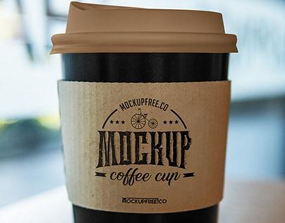 Coffee Cup Free PSD Mockup