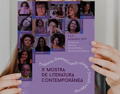 X Mostra de Literatura Contemporânea 2019 | Sesc PE