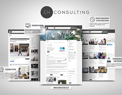 CH Consulting Website Redesign & Development