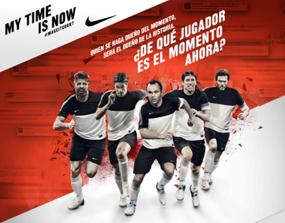 Nike Football | My Time is Now
