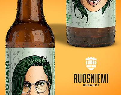 Ruosniemi Brewery / Beer Bottle