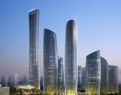 Nantong Zhongnan Tower  Complex and Conference Centre