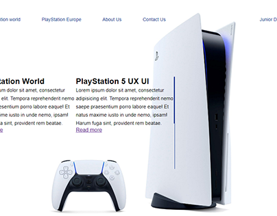 Gaming site (Sony PlayStation 5)