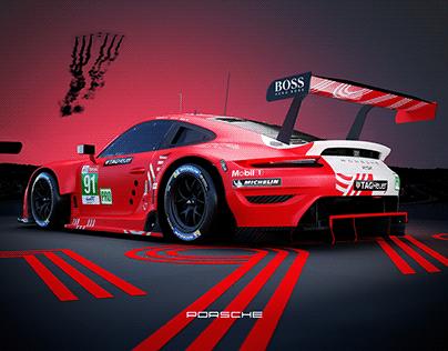 2020 Le Mans // Porsche GTE