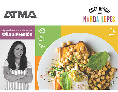 Recipe book ATMA & Narda Lepes