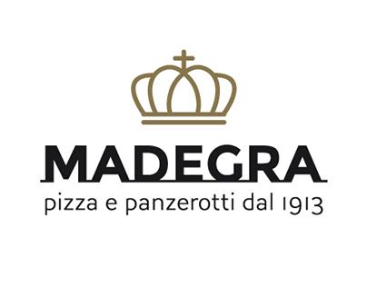 MADEGRA pizza e panzerotti dal 1913 | brand identity