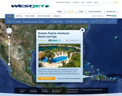 WestJet.com Art Directions