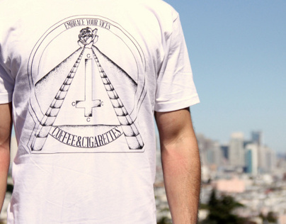 Embrace Your Vices - Coffee and Cigarettes Clothing Co