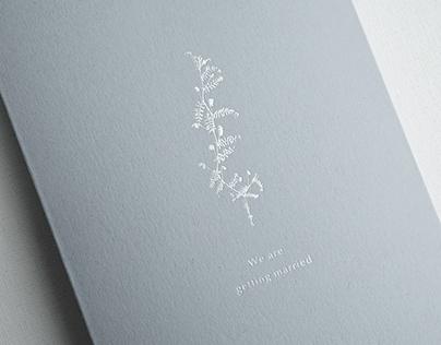 Enoch & Umi Wedding Invitation | 以諾 & 采葳 婚禮喜帖設計