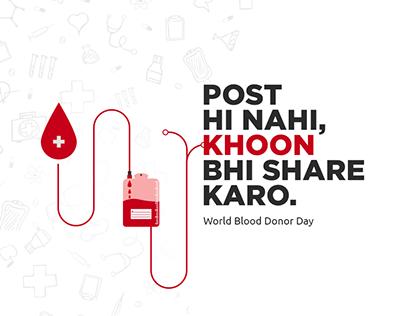 World Blood Donor Day creative