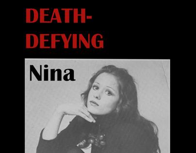 Death-Defying Nina Cover