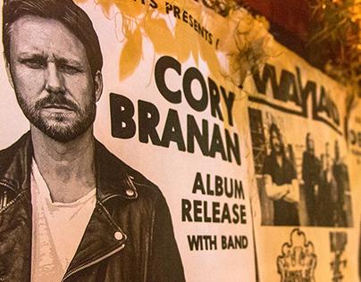 Cory Branan live in Gainesville, FL