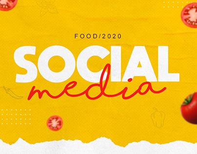 Social Media - Food 2020