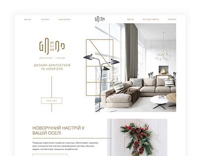 Дизайн корпоративного сайта для компании Good Design