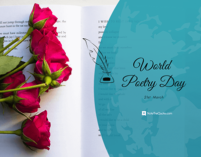 World Poetry Day – 21 March Quotes & Status