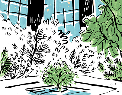 Illustrations at the Ford Foundation
