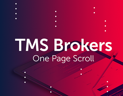 TMS Brokers Landing Page