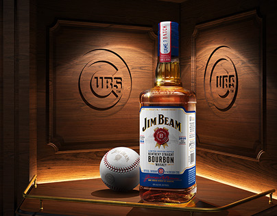 Jim Beam Cubs Limited Edition Bottle