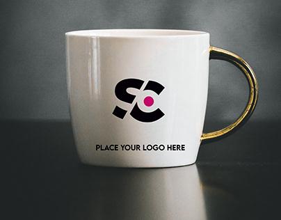 FREE Mug Logo Mockup