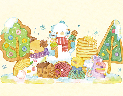 I love it!【2021 winter greeting card】