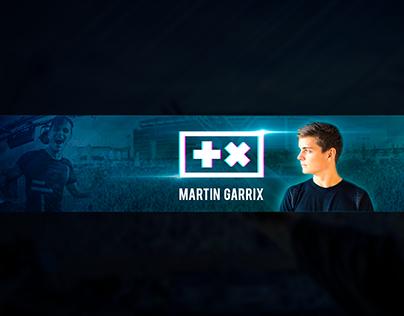 Martin Garrix YouTube Banner