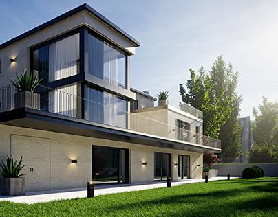 Hillside Villa Zürich, Switzerland
