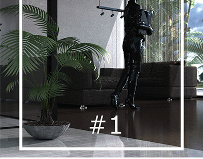 #1 Interior 3D Rendering