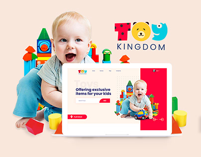 Toys Web Design & Branding