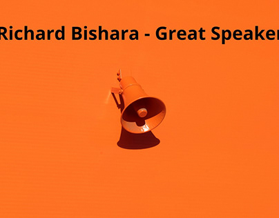 Richard Bishara - Great Speaker