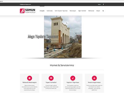 Somun İnşaat Web Site