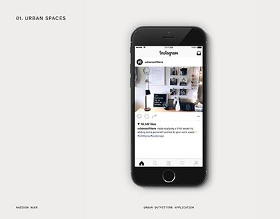 URBN – Urban Outfitters Social Media Intern App.