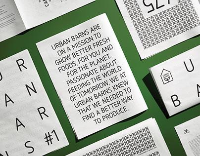 Urban Barns - Image de marque
