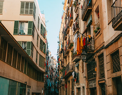 Barcelona Day and Light