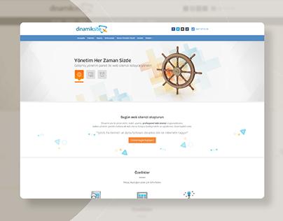 Dinamiksite Website Design