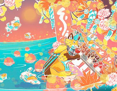Festival Fox Artwork