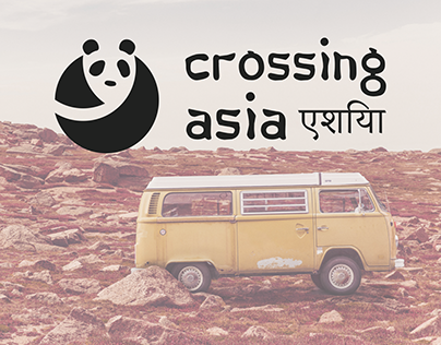 Crossing Asia - Responsive travel web page / blog / app