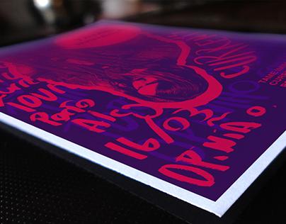 Tame Impala Silkcreen Poster