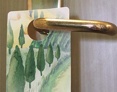 Green Choice Door Hanger