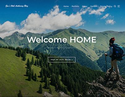 WordPress   Portfolio Blogging Website