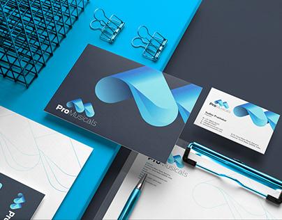 ProMusicals Branding identity design