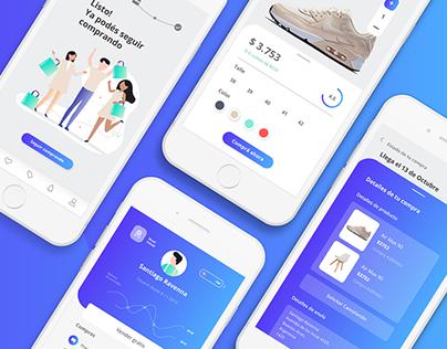 UX/UI App - MercadoLibre - Redesign