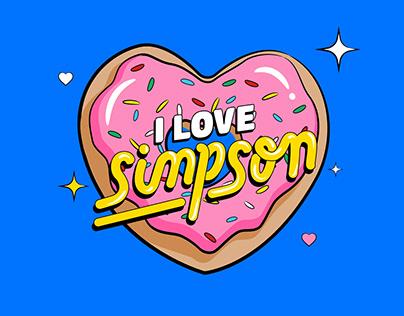 I love Simpson